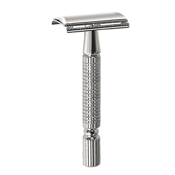 men shaving razor